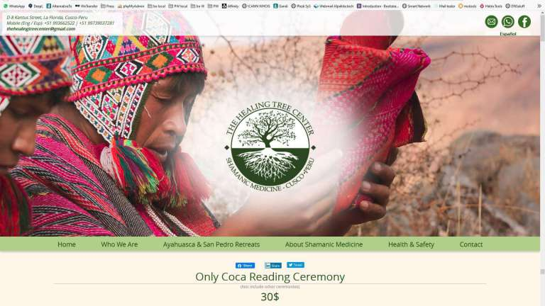La nueva Web de The Healing Tree Center